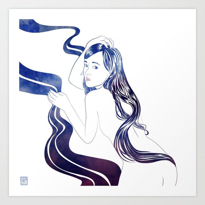 Water Nymph XXXI Art Print