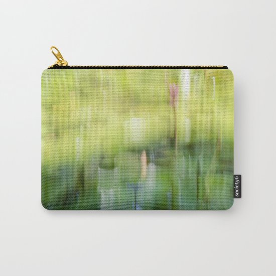 Tropical Impressionism - Lily Pond Carry-All Pouch