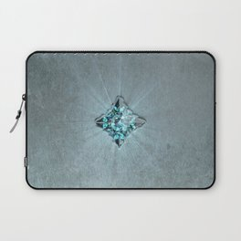 Fantasy Leather Book with Jewel Laptop Sleeve