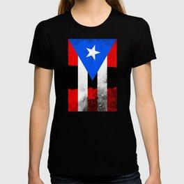 Puerto Rico + Flag T-shirt