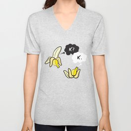 The Fault in Our Potassium Levels Unisex V-Neck