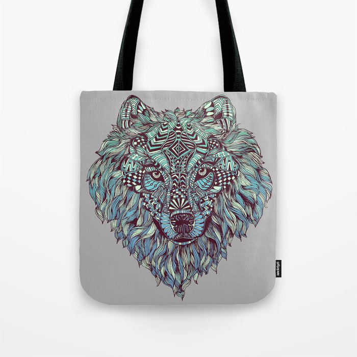 Wolf (Lone) Tote Bag