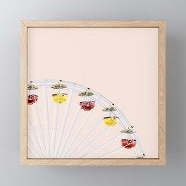 Ferries Wheel Framed Mini Art Print