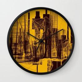 Invisible City #02 Wall Clock