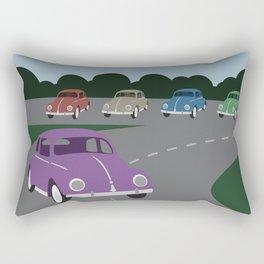 V Bug Rectangular Pillow