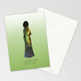 Space Princesses: Mulan Stationery Cards