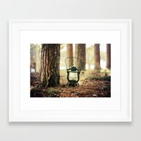 camping Framed Art Prints featuring camping by katelyndee