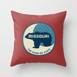 Missouri - Redesigning The States Series Throw Pillow