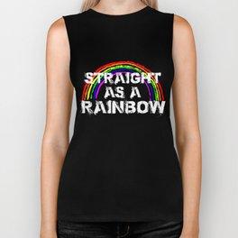Gay Pride Parade LGBT Lesbian Gay Bi Trans Queer Pan Dark Biker Tank