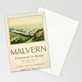 posters Malvern Stationery Cards