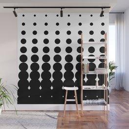 Retro Halftone Pattern Wall Mural