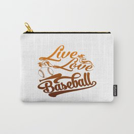 LIVE - LOVE - BASEBALL Carry-All Pouch