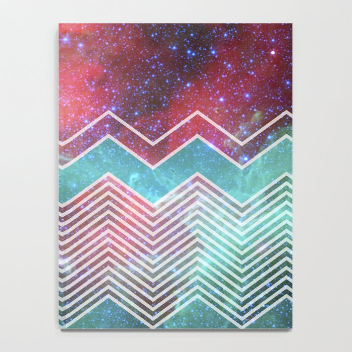Chevron Galaxy Notebook