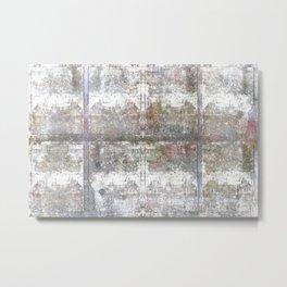 Blocks Wall Mural Metal Print