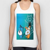 happy birthday Tank Tops featuring Happy Birthday by LoRo  Art & Pictures
