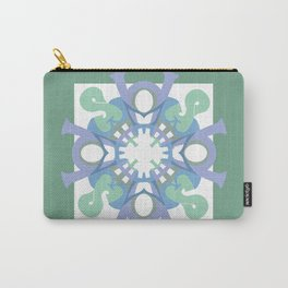 Home Sweet Home - Green Lavender (throw/tapestry) Carry-All Pouch