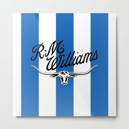 RM Williams Metal Print
