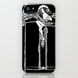 Jessie M King Art Nouveau Glasgow Style Fairy Arts and Crafts iPhone Case
