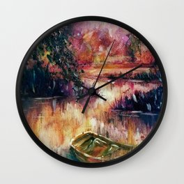 Lakeside dream Wall Clock