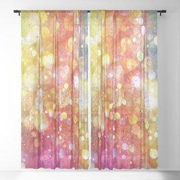 Rainbow of Lights Sheer Curtain