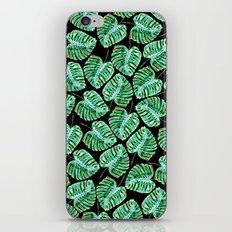 Pattern tropical leaves fashion I iPhone & iPod Skin