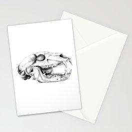Bear Skull Stationery Cards