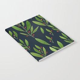simple black nature Notebook