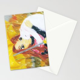 Found You (Paint Daubs Effect) Stationery Cards
