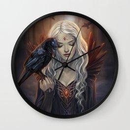 Ravenkin Wall Clock