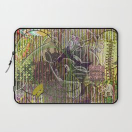 A Strict Code for Mourning Flowers Laptop Sleeve