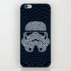 Storm and radiation iPhone & iPod Skin