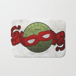 the red turtle Bath Mat
