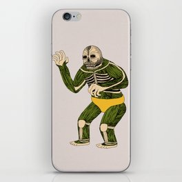 The Original Glowing Skull iPhone Skin