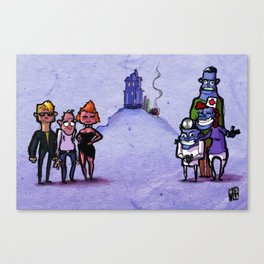 Use Verb on Noun #13: Maniac Mansion Canvas Print