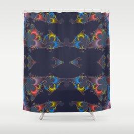 fractal beauty Shower Curtain