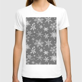 Snow Flakes 08 T-shirt