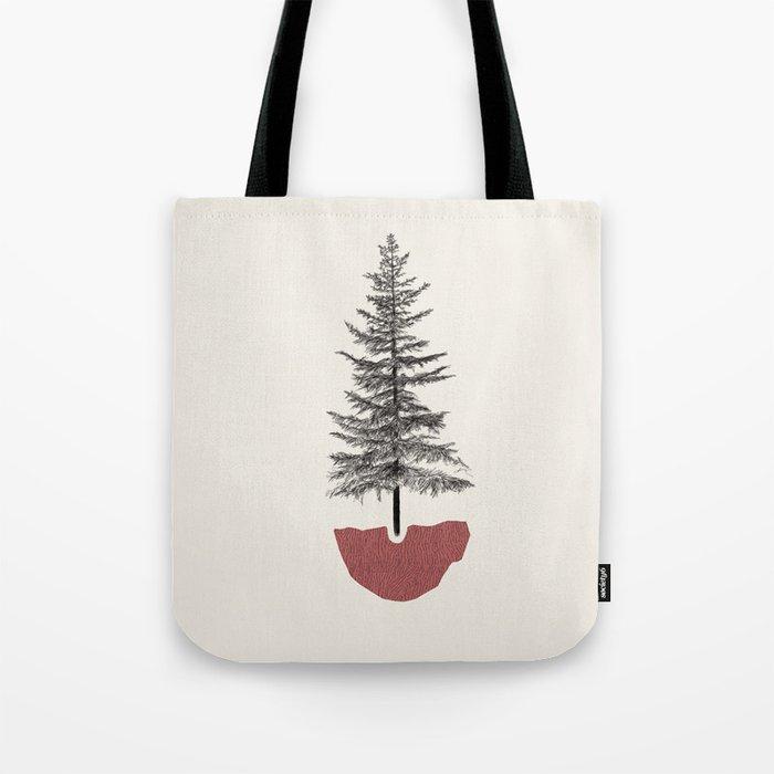 Fir Pine Umhängetasche