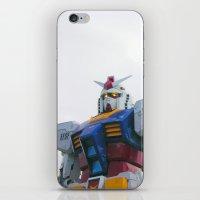 gundam iPhone & iPod Skins featuring Gundam RX-78-2 by jHYtse
