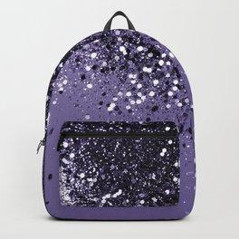 ULTRA VIOLET Glitter Dream #2 #shiny #decor #art #society6 Backpack