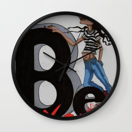 Be You Wall Clock