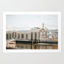 Butler's Wharf of the Thames  Art Print