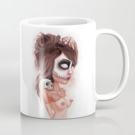 Deathlike Skull Impression Coffee Mug