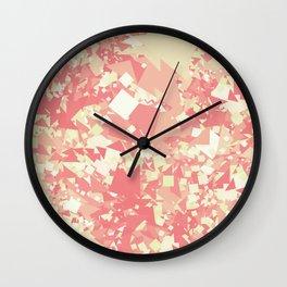 Red Green Wall Clock
