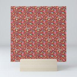 Batik Kebaya Red SQ Mini Art Print