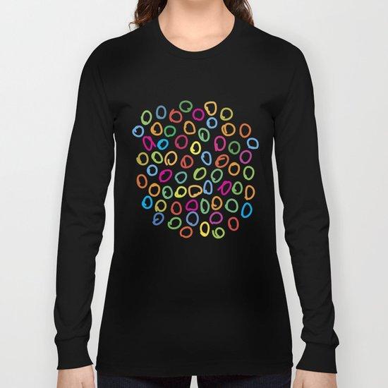 Lovely Pattern V Long Sleeve T-shirt