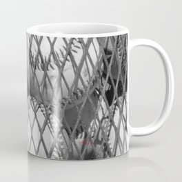 Vintage Baseballs - Bl&Wh Coffee Mug