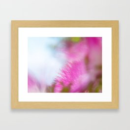 Full pink dream Framed Art Print