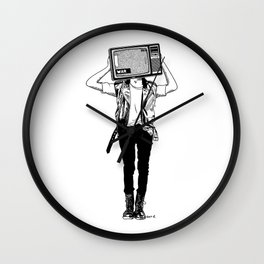 Stay tuned, listen to the news and try to fall asleep at night Wall Clock