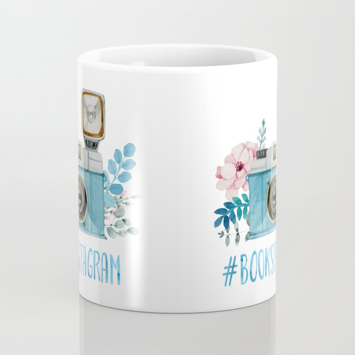 Blue Bookstagram Coffee Mug