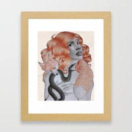 The Russian Concubine Framed Art Print